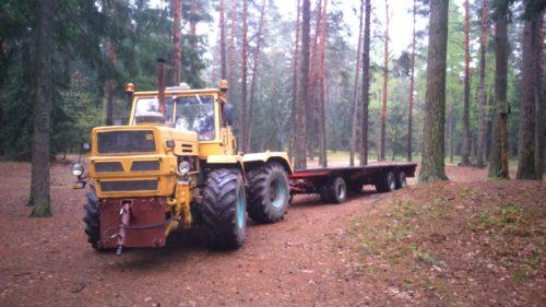 Cięzki transport KatmirBis roboty ziemne Dobrzyniewo